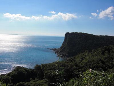 島からの眺め