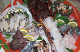 漁船保有、自家菜園の料理自慢の宿です!